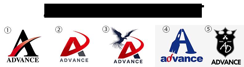 ADVANCE ロゴについて
